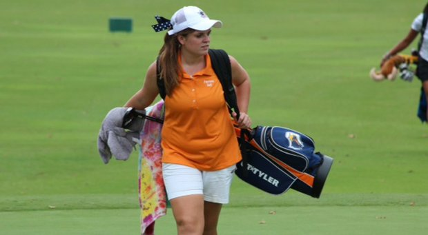 Texas-Tyler's Laura Lindsey won the NCAA Division III National Championship last spring as a freshman.