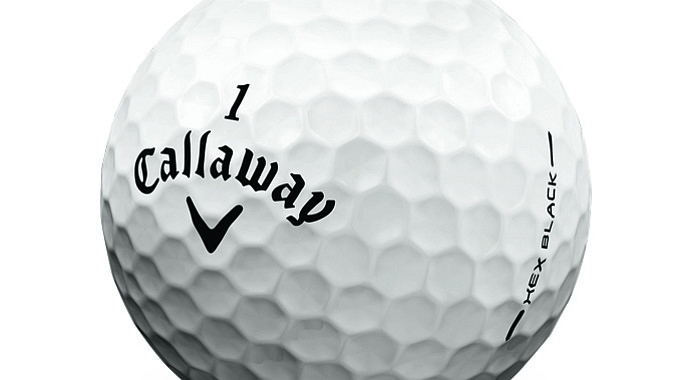 Callaway Hex Black Tour golf ball.