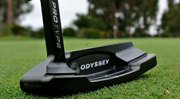 Odyssey ProType Black putter.