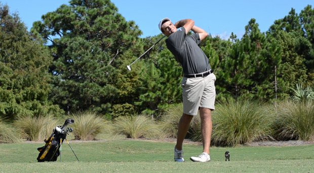 Oglethorpe's Braden Baer was one of three players to contribute 1-under 70 for the Stormy Petrels in Round 2 of the Golfweek Division III Invitational.