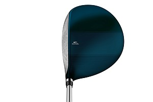 Cobra Baffler XL driver at address.