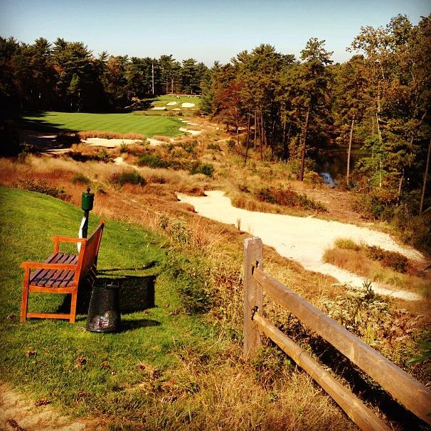 Jordan Spieth's Instagram photo of Pine Valley.