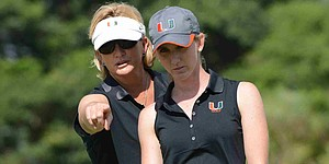 Miami grabs early lead at Hurricane Invitational