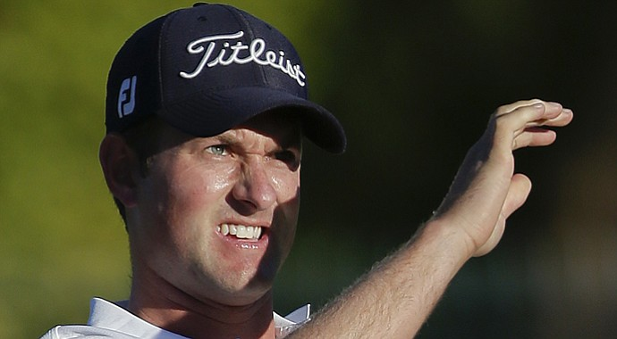 Webb Simpson during the third round of the Shriners Hospitals for Children Open.