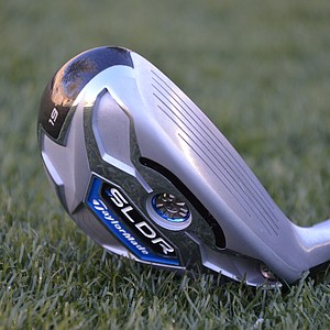 TaylorMade SLDR rescue hybrid.