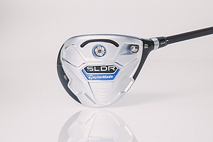 TaylorMade SLDR fairway wood.