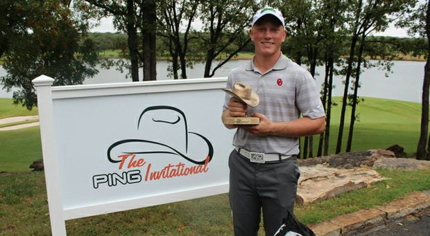 Brad Dalke, winner of the 2013 AJGA Ping Invitational.