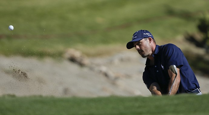 Jonathan Byrd during the 2013 Shriners Hospitals for Children Open in Las Vegas.