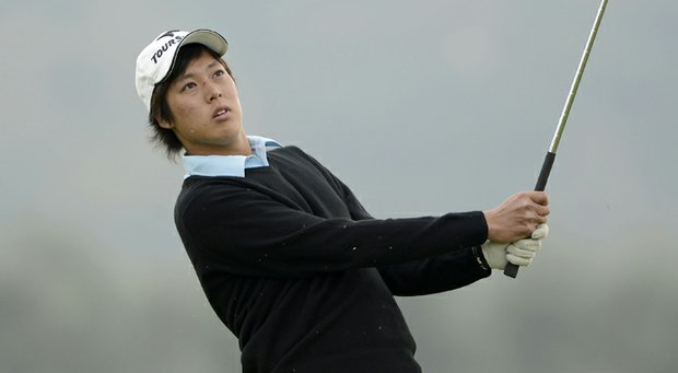 Shohei Hasegawa shares the lead at the Asia-Pacific Amateur.