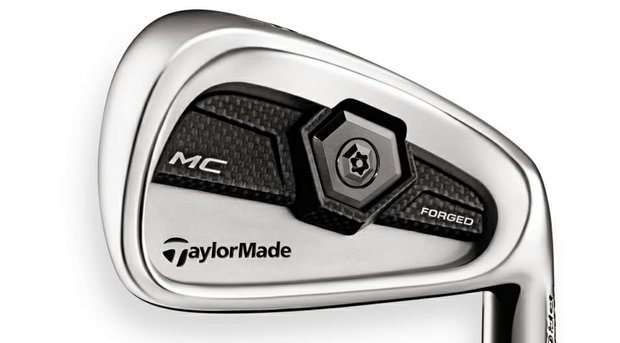 TaylorMade Tour Preferred MC forged iron.