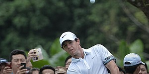 New Nike ball in play for McIlroy, Pettersen