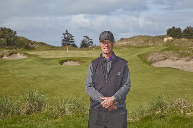 Mike Keiser, owner of Bandon Dunes Golf Resort