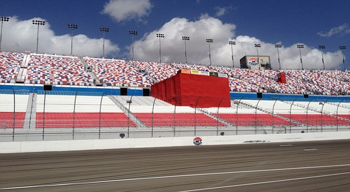 Las Vegas Motor Speedway is the sight of the RE/MAX Long Drive Championship.