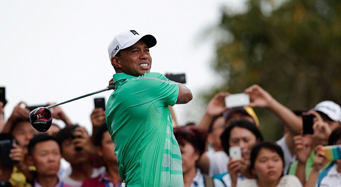 Tiger Woods played in China on Monday in a match against Rory McIlory, but he isn't playing in the WGC-HSBC Champions this week.