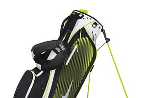 The Nike Sport Lite carry bag (green/white)