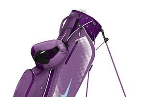 The Nike Sport Lite carry bag (grape/light blue)