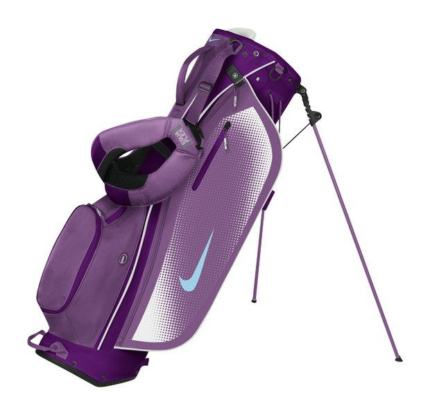 The Nike Sport Lite carry bag (grape/light blue)