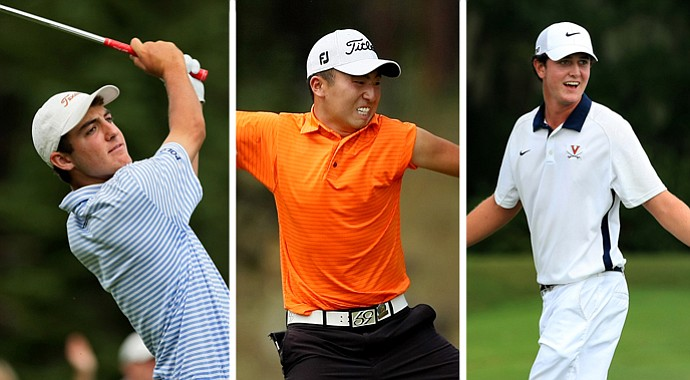 From left to right, Scottie Scheffler, Doug Ghim and Austen Truslow are among the top boys players in the Class of 2014.