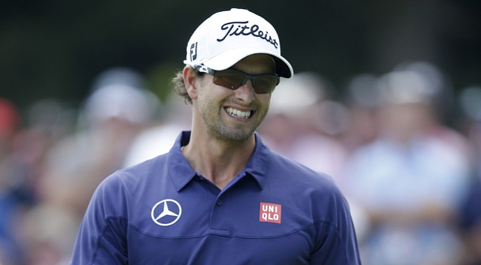 Adam Scott during the 2013 PGA Championship.