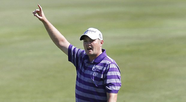 Jason Kokrak made an ace at the par-4 fifth hole at Sea Island Golf Club's Seaside Course during a pro-am for the McGladrey Classic.