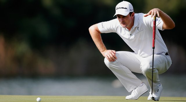 Justin Rose during the pro-am for the Turkish Airlines Open at Montgomerie Maxx.