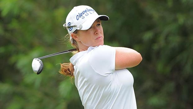 Allison Fouch-Duncan announced her retirement from the LPGA tour on Friday.