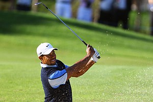Tiger Woods during the 2013 Turkish Open.