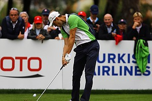 Martin Kaymer during the 2013 Turkish Open.