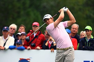 Peter Uihlein during the 2013 Turkish Open.