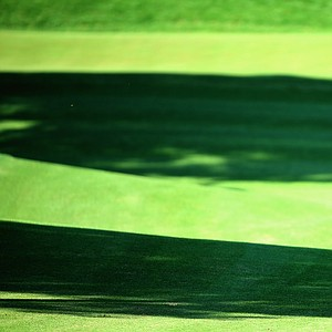 Thorbjorn Olesen plays his third shot into the third green during the third round of the Turkish Airlines Open.