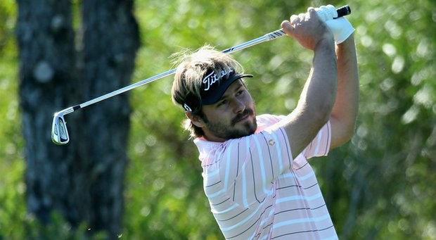 Victor Dubuisson during the final round of the 2013 Turkish Airlines Open.