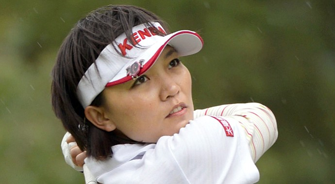 Teresa Lu during the 2013 Mizuno Classic on the LPGA Tour.
