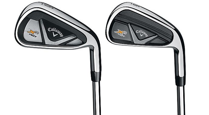 Callaway X2 Hot and X2 Hot Pro irons.