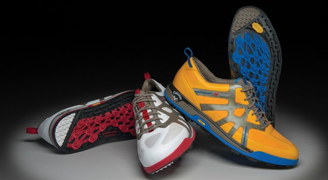The new Callaway X Cage-Vibe spikeless golf shoe for 2014