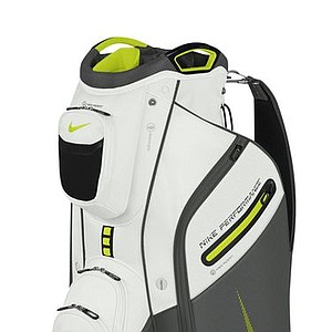 The new Nike Performance Cart Bag (green and white)