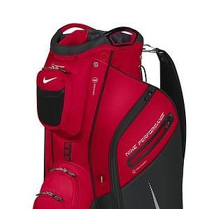 The new Nike Performance Cart Bag (red and black)