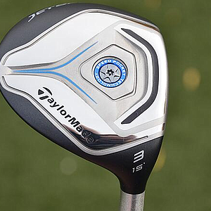 TaylorMade Jetspeed fairway wood.