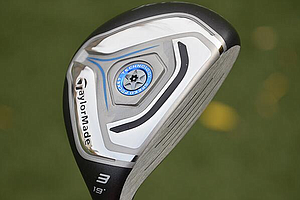 TaylorMade Jetspeed rescue hybrid.