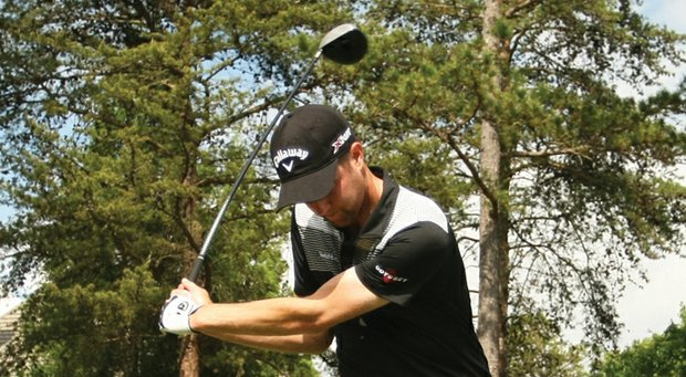 Chris Kirk's swing generates a natural, powerful draw.