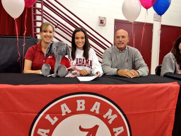 Nicole Morales signed with Alabama on Wednesday.