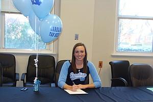 Alexandra Harkins signed with North Carolina on Wednesday.