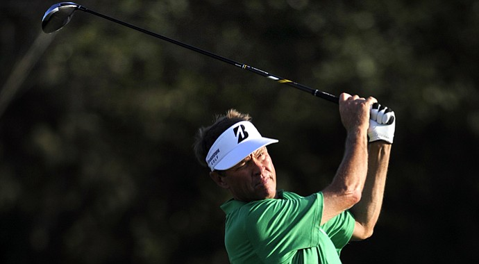 Davis Love III during the 2013 McGladrey Classic on PGA Tour.