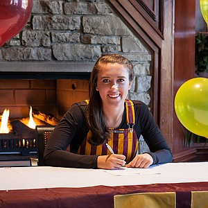 Heather Ciskowski signed with Minnesota on Wednesday.