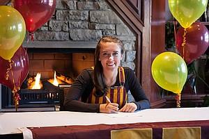 Heather Ciskowski signed with Minnesota on Wednesday.