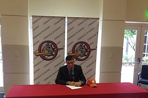 Peter Mathison signed with Clemson on Wednesday.