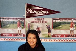 Alix Kong signed with Indiana on Wednesday.