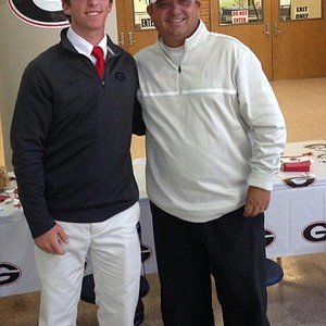 Zach Healy signed with Georgia on Wednesday.