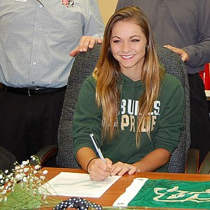 Jordan Wolf signed with South Florida.