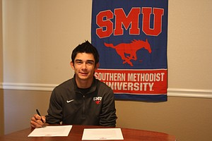 Ryan Gronlund signed with SMU.