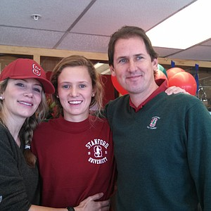Calli Ringsby signed with Stanford.